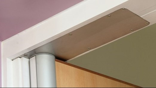 Dorma concealed closer with coverplate